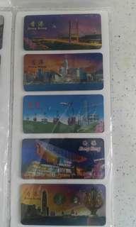 香港旅遊景點紀念磁貼