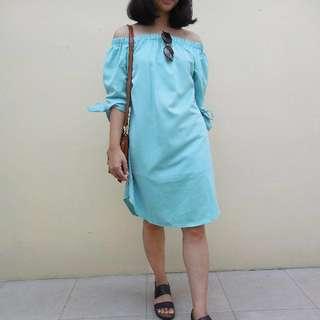 SALE!! Sabrina Turquoise Dress