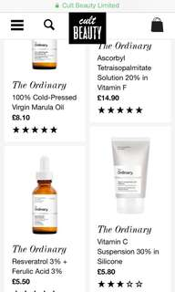 Pre order is closed! - The Ordinary