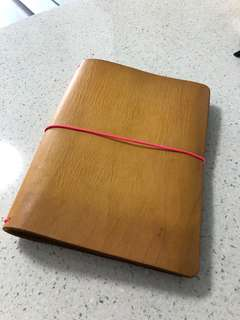 A5 The Leather Quill Shoppe notebook