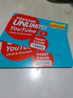 Voucher unlimited youtube indosat ooredoo