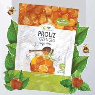 HDI Proliz Lozenges ( Permen Berpropolis)