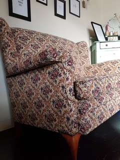 Antique Highback 2 Seater
