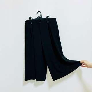 女裝七分寬褲
