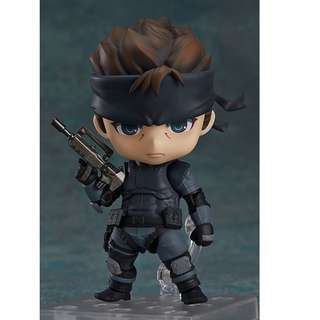 [PRE ORDER] Good Smile Company - Nendoroid 447 - Solid Snake (Reissue) - 1/12 Collectible Action Figure