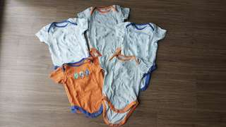 MOTHERCARE 6-9m Rompers Set