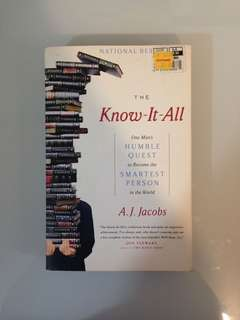 A.J. Jacobs - The Know-It-All (One Man's Quest to Become the Smartest Person in the World)