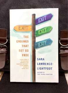 《Bran-New + The wisdom of saying goodbye》Sara Lawrence Lightfoot - EXIT : The Endings That Set Us Free