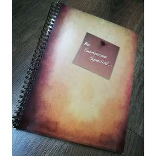 Be Someone Special NoteBook