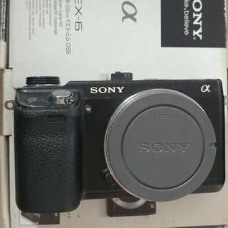 Sony Mirrorless Nex-6 Body Only