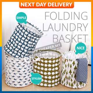 Waterproof Multi-Functional Dirty Clothes Barrel Folding Laundry Basket