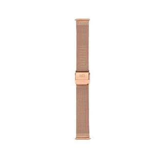 VOLARE ROSE GOLD MESH BAND WITH ROSE GOLD BUCKLE 36MM