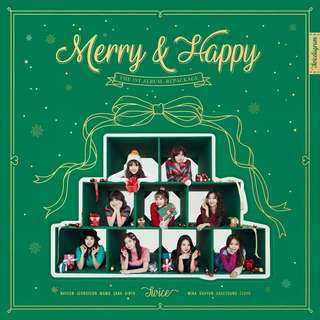 TWICE - MERRY & HAPPY