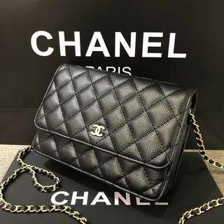 Chanel WOC Caviar