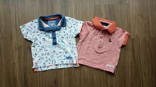 MOTHERCARE 3-6m boy's t-shirts