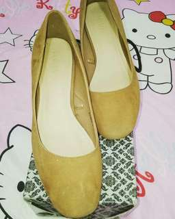 Parisian Brown Suade Block Heels #women #shoes # cheapfinds