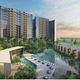 $578k for 1 bedroom Unit in Hougang - Riverfront Residences