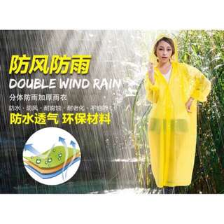 Unisex Lightweight raincoat