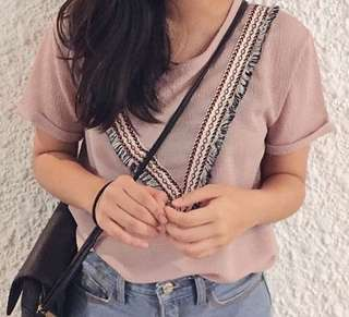 Pink Detailed Blouse