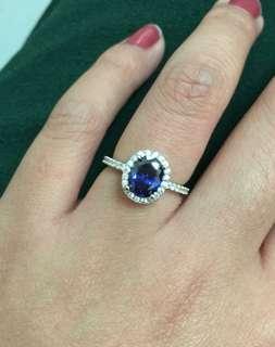 藍寶石戒指 sapphire ring