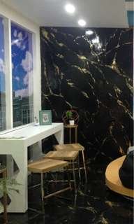 Murals, Faux Textures, Marble or Granite Finish