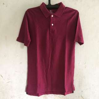 Polo shirt, tshirt GAP maroon size s