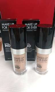 Reprice!!Foundation Ultra HD Make Up Forever