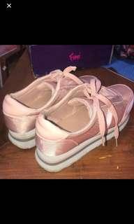 Sneakers Stradivarius Pink Size 39