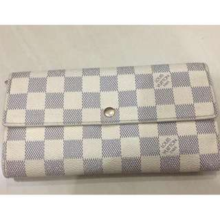 Louis Vuitton Damier Azur Long Wallet