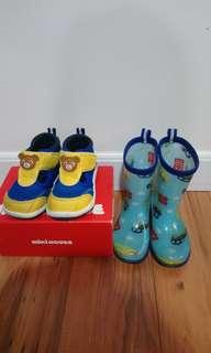 Miki house 涼鞋及水鞋/雨靴