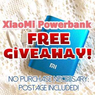 Have you joined our FREE GIVEAWAY?