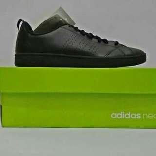 adidas neo advantage full black 100% original