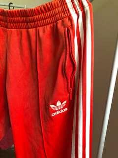 Red Adidas Pants