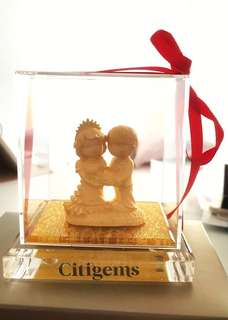Citigems- lovely couple figurine