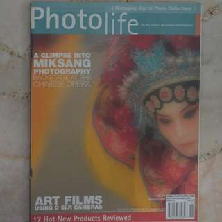 PHOTOLIFE - The Art, Culture and Science Of Photography Nov 2005 (CANADA)