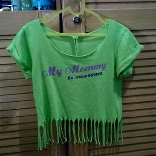 Crop Top Just For Kids 2-3th