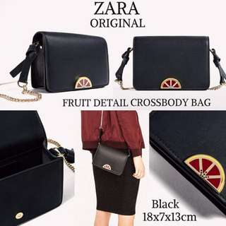 ZARA FRUIT CHAIN BAG