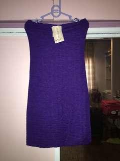 Violet Tube Dress