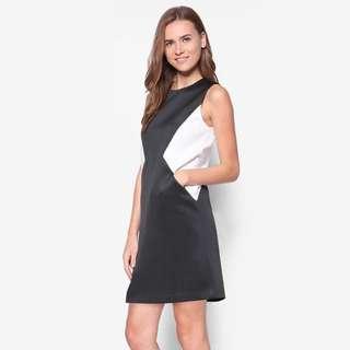 Zalora Collection Panelled Shift Dress