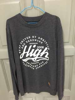 High cultured Long Sleeve Sweater