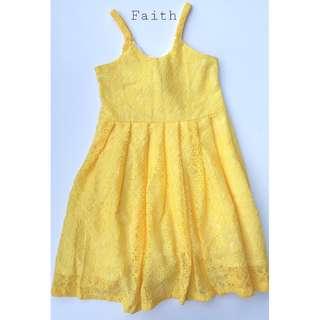 FAITH-LACE DRESS
