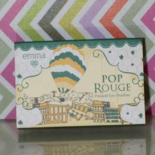 EMINA POP ROUGE PRESSED EYESHADOW - COLORFUL