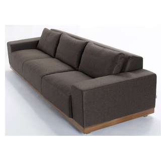 Belfron oversized three seater sofa