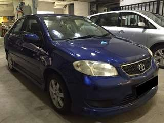 8 June to 11 June Toyota Vios Only $180 ( p plate welcome)