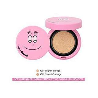 3CE x Barbapapa 3CE Fitting Cushion Foundation + Refill SPF50+ PA+++ Shade: (#001)