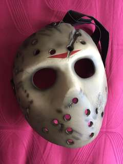 Selling fast !! Friday the 13th Resin Face Mask.