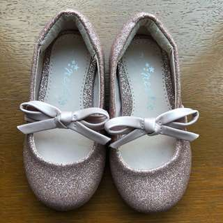Next Pink Glitter Shoes