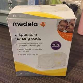 New Medela Disposable Nursing bra pads 60 counts 60塊 哺乳乳墊 喂奶