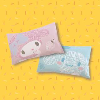 【預購】台灣代購 全家 FamilyMart Sanrio My Melody Cinnamoroll 微笑好生活 玉桂狗 枕頭套