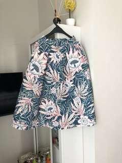 H&M flower skirt
